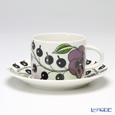 Arabia Paratiisi Stockmann 150 year edited collection Tea cup 0,28l and saucer 16,5 cm