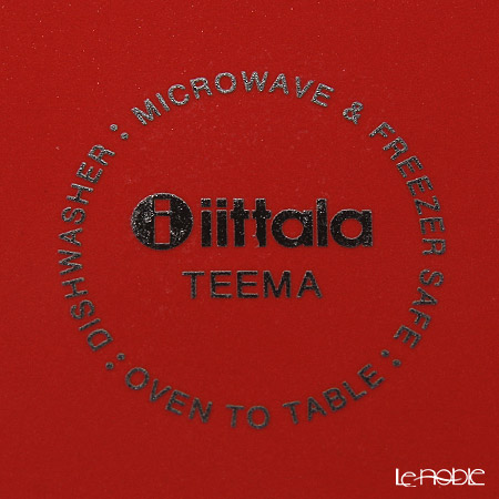 Iittala Teema Red [Seasonal product] Plate 21cm