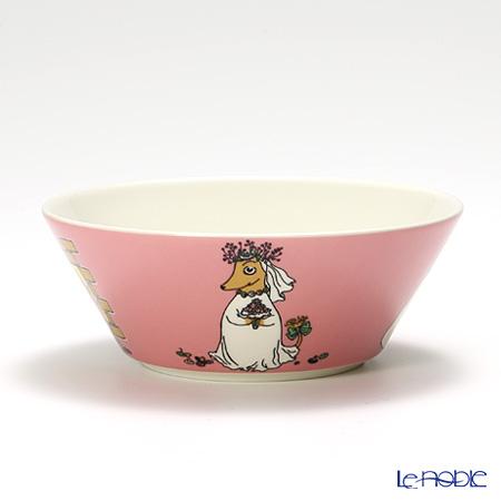Arabia 'Moomin Classics - Fuzzy' Pink 2011 Bowl 15cm