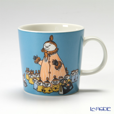 Arabia 'Moomin Classics - Mymble's Mother' Turquoise Blue 2012 Mug 300ml