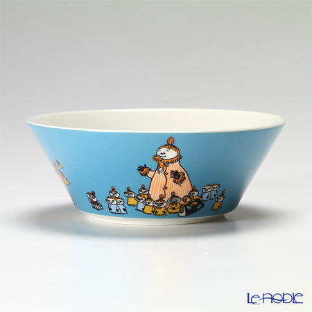 Arabia Moomin Classics - Mymble's Mother Bowl 15cm, turquoise 2012