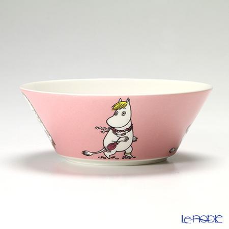 Arabia 'Moomin Classics - Snorkmaiden' Pink 2013 Bowl 15cm