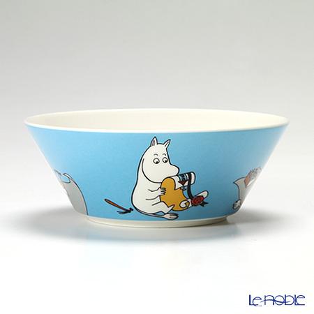 Arabia 'Moomin Classics - Moomintroll' Turquoise Blue 2013 Bowl 15cm