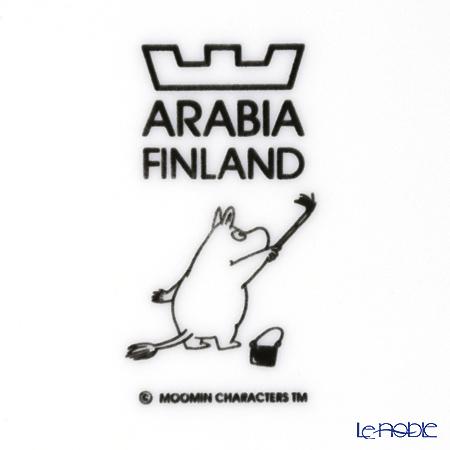 Arabia 'Moomin Classics - Moomintroll' Turquoise Blue 2013 Plate 19.5cm