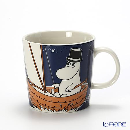 Arabia 'Moomin Classics - Moominpappa' Blue 2014 Mug 300ml