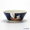 Arabia 'Moomin Classics - Moominpappa' Blue 2014 Bowl 15cm