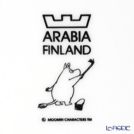 Arabia 'Moomin Classics - Moominpappa' Blue 2014 Plate 19.5cm