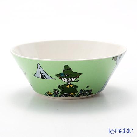 Arabia 'Moomin Classics - Snufkin' Green 2015 Bowl 15cm