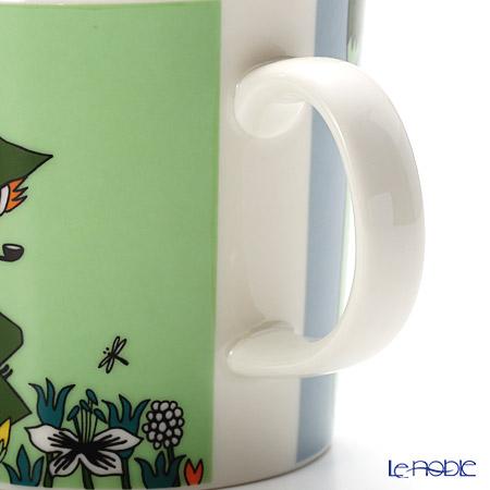 Arabia 'Moomin Classics - Snufkin' Green [2015] 1015561 Mug 300ml