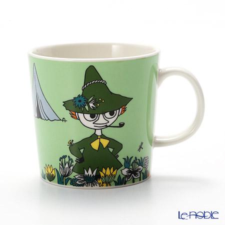 Arabia 'Moomin Classics - Snufkin' Green 2015 Mug 300ml