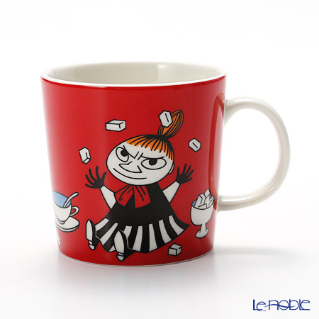 Arabia 'Moomin Classics - Little My' Red 2015 Mug 300ml