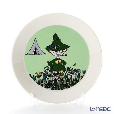 Arabia 'Moomin Classics - Snufkin' Green 2015 Plate 19.5cm
