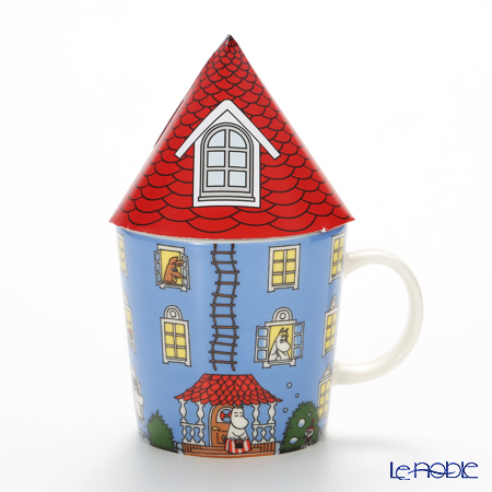 Arabia 'Moomin 70 years Special Edition - Moomin House' [Limited in 2015] Mug 300ml