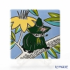 Arabia Moomin special products Grow Your Own Moomin Deco Tree Snufkin 89 x 89 mm  [Limited Item to June 2016]