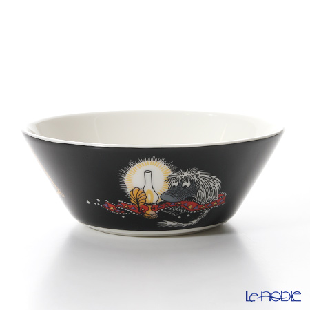 Arabia 'Moomin Classics - Ancestor' Black Bowl 15cm