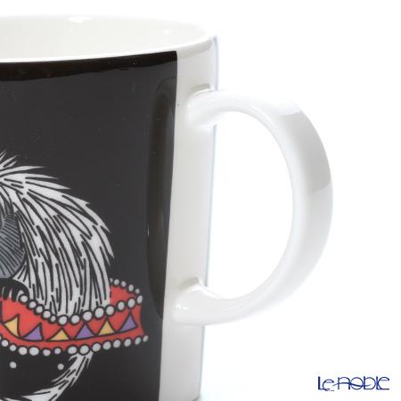 Arabia 'Moomin Classics - Ancestor' Black Mug 300ml