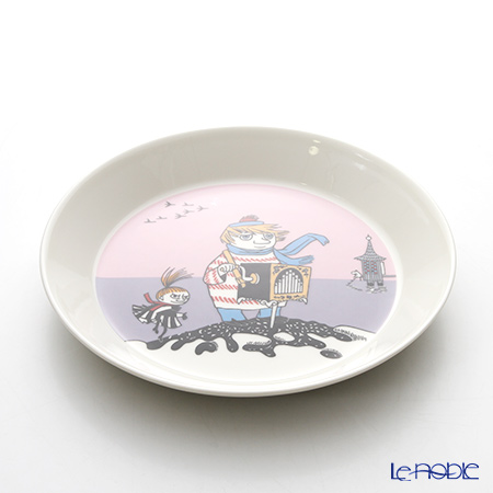 Arabia 'Moomin Classics - Tooticky' Violet 2016 Plate 19.5cm