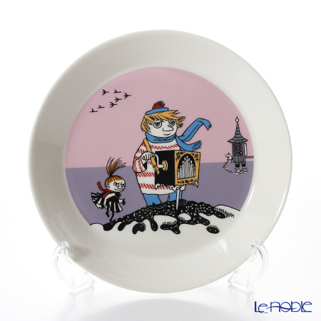 Arabia Moomin Classics - Tooticky Plate 19cm, violet, 2016