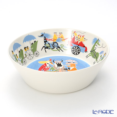 Arabia 'Moomin Special - Friendship' Serving Bowl 23.5cm