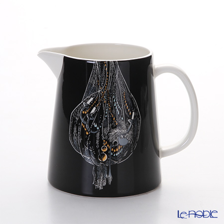 Arabia Moomin Special - Ancestor Pitcher 1000ml, black