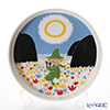 Arabia Moomin special products Serving Platter 26 cm Friendship
