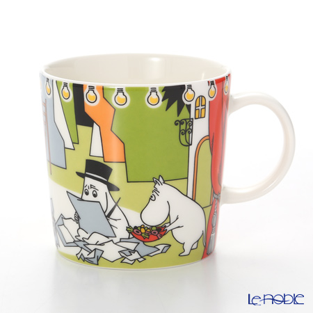 Arabia Moomin Seasonal - Welcome to Summer Theater with Moomins Mug 300ml [Limited Item in Summer 2017]