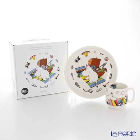 アラビア(ARABIA) ムーミン コレクション チルドレンセット(ムーミン) 【プレート&マグ2点セット】