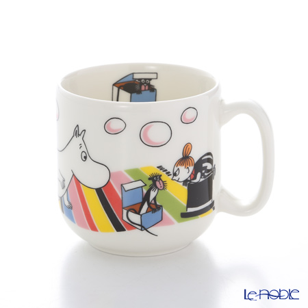 Arabia Moomin Collection Children's Set Little My, Set of Mug 200ml & Plate 18cm