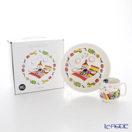 アラビア(ARABIA) ムーミン コレクション チルドレンセット(チビのミィ) 【プレート&マグ2点セット】