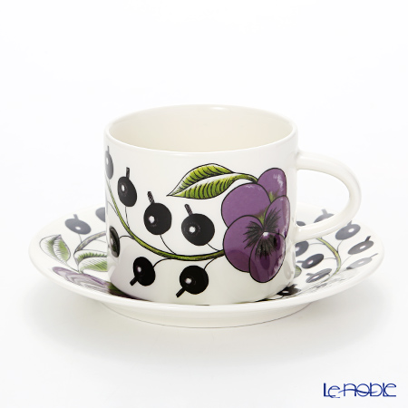 Arabia Paratiisi Stockmann 150 year edited collection Coffee cup and saucer 0,18 l