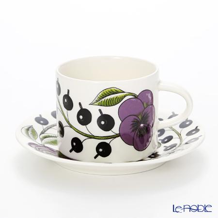 アラビア(ARABIA) パラティッシ パープル コーヒーカップ&ソーサー 180cc