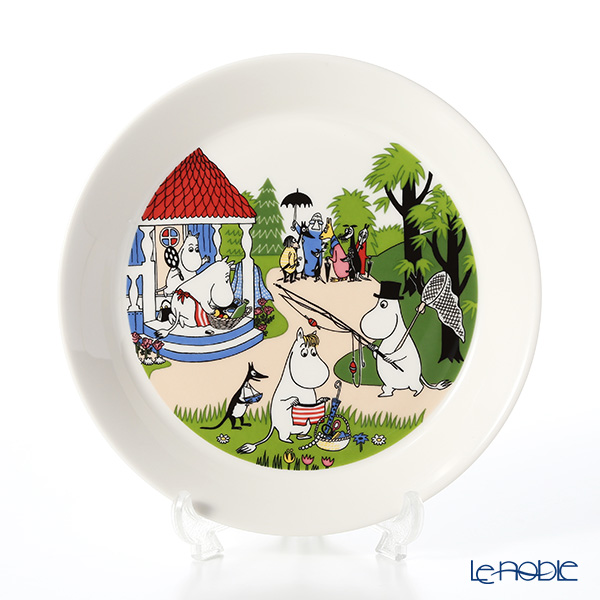 Arabia Moomin Seasonal - Going on Vacation [Limited Item in Summer 2018] Plate 19.8cm