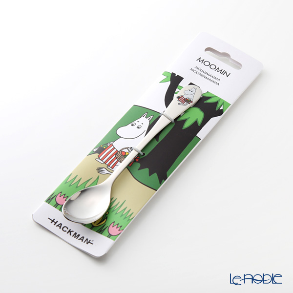 Hackman Moomin Cutlery - Moominmamma (Going on Vacation) [2018 summer] Long Spoon 16.5cm