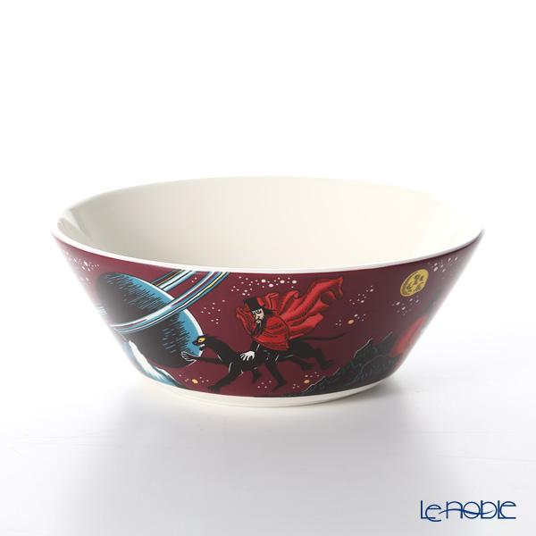 Arabia 'Moomin Classics - Hobgoblin Reddish' Purple 1025545 Bowl 15cm