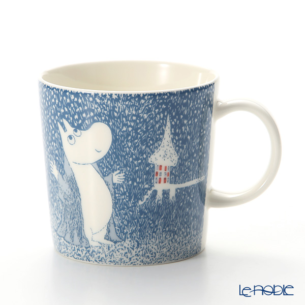 Arabia Moomin Seasonal - Light Snowfall Mug 300ml [Limited Item in Winter 2018]