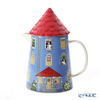 Arabia 'Moomin Special - Moomin House' Pitcher with Lid 1000ml