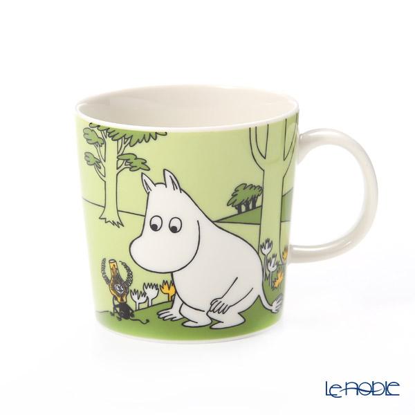 [Advance Sale] Arabia Moomin Classics - Moomintroll Glass Green Mug 250ml