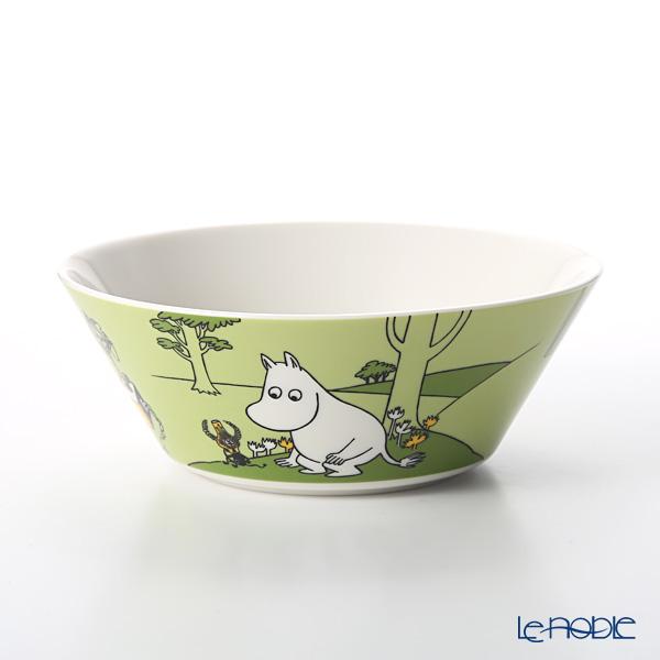 Arabia 'Moomin Classics - Moomintroll' Grass Green 1027429 Bowl 15cm