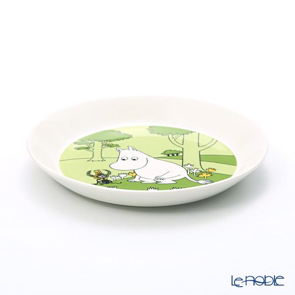 Arabia Moomin Classics - Moomintroll Plate 19cm, grassgreen