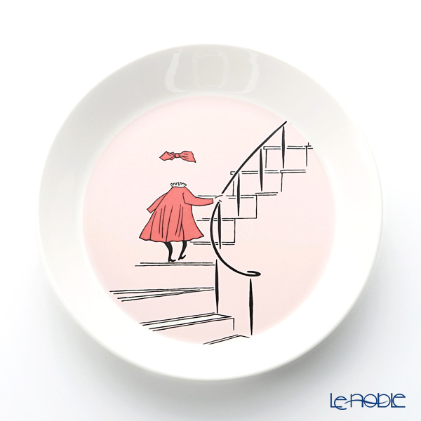 Arabia 'Moomin Classics - Ninny' Powder Pink Plate 19.5cm