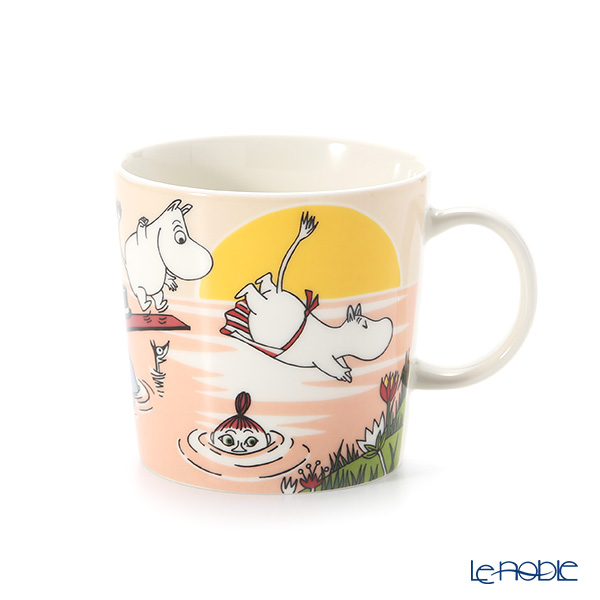 Arabia Moomin Seasonal - Evening Swim Mug 300ml [Limited Item in Summer 2019]