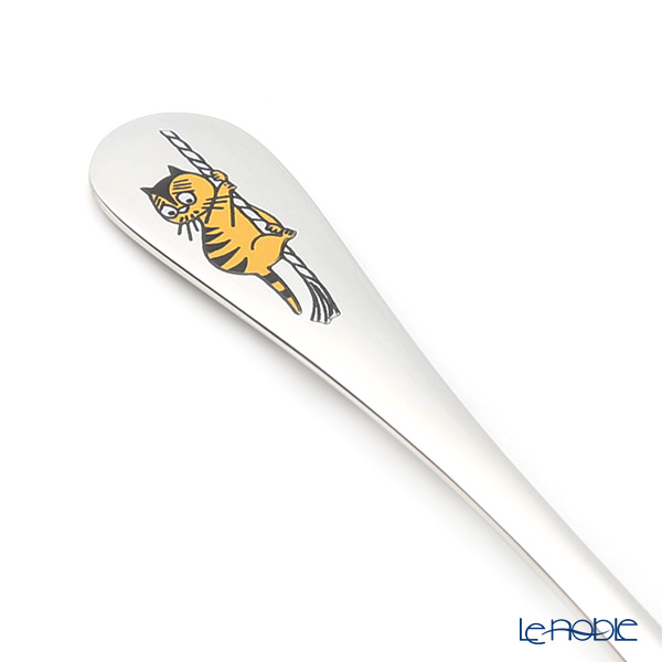 Hackman Moomin Cutlery - Cat (Eveing Swim) [2019 Summer] Long Spoon 16.5cm