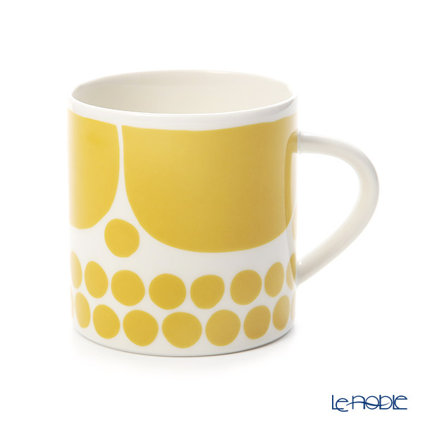 Arabia 'Sunnuntai' Yellow Mug 350ml