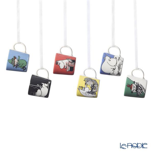 アラビア(ARABIA) ムーミン コレクション ミニマグ/オーナメント/ピッチャー(ミルクジャグ) 6個セット 1028335