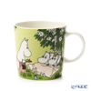 Arabia 'Moomin Seasonal - Relaxing' Green [2020 Summer] 1052327 Mug 300ml