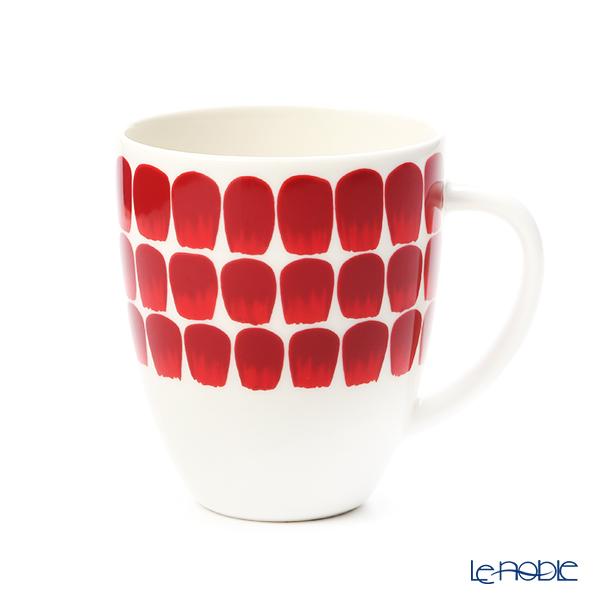 アラビア(ARABIA) 24h トゥオキオ TUOKIO レッド マグカップ 340ml 1055225