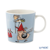 アラビア(ARABIA) ムーミン フィリフヨンカマグカップ 300ml グレー(ブルーグレー)1057216