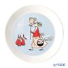 Arabia 'Moomin Classics - Fillyfjonk' Blue Grey 1057218 Plate 19.5cm