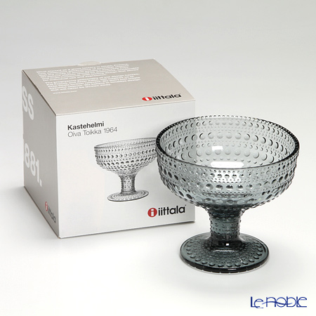Iittala Kastehelmi Bowl 35 cl grey