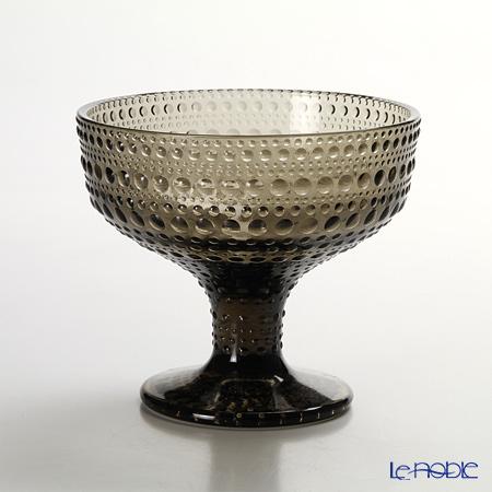 Iittala 'Kastehelmi' Sand (Brown) Pedestal Bowl 350ml
